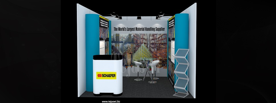 Portable Exhibition Stall : Exhibition displays portable kit specialist