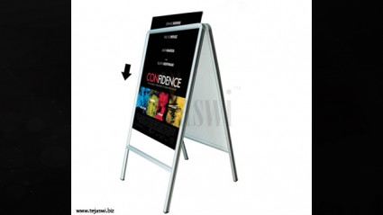 Side Walk Poster Stand