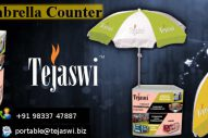umbrella with counter promo